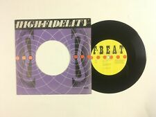 ELVIS COSTELLO & ATTRACTIONS High Fidelity 45 F Beat XX3 UK 1980 VG+ SIGNED B3