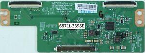 3398ED 36871L-3398E 6870C-0469A T-CON FOR POLAROID 3-42-LED-14 VES420UNDL-2D-N03