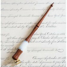 Wood English Oblique Antique Calligraphy Scrip Dip Pen Nib Copperplate Holder