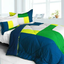 [Tropical Rainforest] Quilted Patchwork Down Alternative Comforter Set (Twin .