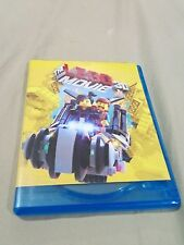 The lego movie bluray and dvd
