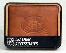 Montreal Canadiens NHL Embossed Leather Billfold Wallet FREE US SHIPPING