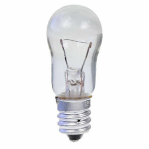 6V 6W E12 Screw in Light Bulb 19mm X 48mm (Pack of 5)