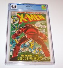 X-Men #80 - 1973 Marvel Bronze Age Issue - CGC NM+ 9.6 - Juggernaut cover, issue