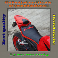 "Custom Design Seat Cover HONDA CBR1000RR 08-11 BLACK+RED ""Fireblade"" 001"
