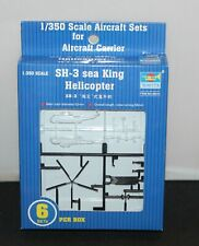 Sh-3 Sea King Helicopter 06214 Trumpeter 1/350 S for Aircraft Carrier