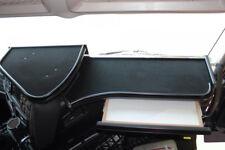 Iveco Stralis Hi-Way Passform 2x Ablagetisch Armaturenablage Tisch Velur Schwarz