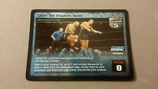 WWE Raw Deal LAYIN THE SMACKETH DOWN FOIL card