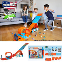Hot Wheels Track Builder System Race Crate - Stunt Set Juguete Pista de Carreras