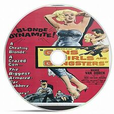 Guns, Girls And Gangsters Black And White Public Domain film Converted To DVD
