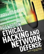 Hands-On Ethical Hacking and Network Defense: Simpson.Textbook, softcover. New