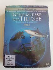 GEHEIMNISSE DER TIEFSEE - DIE FRIEDHÖFE DER MEERE - 3 DVD's - STEELBOX - NEU&OVP