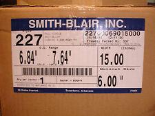 "New Smith Blair 227 6"" X 15"" Full Circle Repair Clamp 15"" wide 22700069015000"