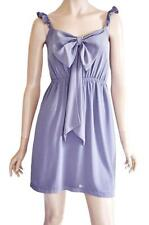 COOPER ST SZ 10 WOMENS Purple Bow Sleeveless Cocktail Party Short Tea Dress