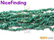 "5-8mm Natural Chips Stone Craft Jewelry Making Freeform Nugget Bead Gemstone 34"""