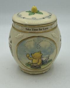 Disney Winnie the Pooh Porcelain Music Box Honey Pot (Size 4x3)