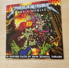 Thrashing Like A Maniac cd Evile SSS Lazarus Merciless Death Gama Bond Violator