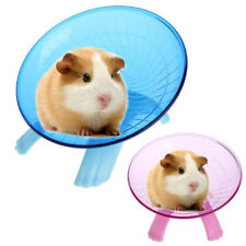 Running Disc Flying Saucer Exercise Wheel Toy for Mice Dwarf Hamster Pet 18cYjca
