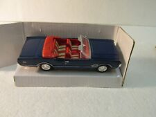 New Ray 1966 Blue Oldsmobile 442 Convertible 1:43 Scale Diecast 2000 dc2611