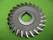 Straight Tooth Side Milling Cutter 24T 4 x 3/8 x 1-1/4 National Twist