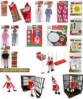 Jeux de Noël Naughty ELF avent Jouet Accessoires Kit idées Blague accessoires-UK