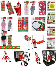 Elf Accessories Props Stock On The Shelf Ideas Kit Christmas Games Clothes Dolls