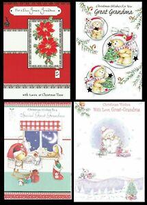 GREAT-GRANDMA ~ CHRISTMAS CARD ~ CHOICE of QUALITY DESIGNS
