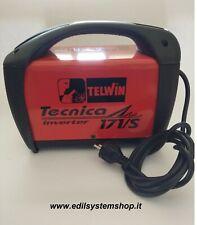 TELWIN TECNICA 171/S SALDATRICE INVERTER SENZA ACCESSORI CODICE TELWIN 816003