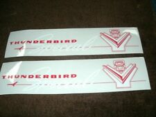 1957 FORD 312 SPECIAL 270HP VALVE COVER DECALS PAIR