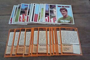 A&BC Orange Back Football Cards 1970 - First Series VGC! Pick The Cards You Need