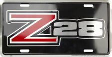 Chevrolet Chevy Z28 Camero Aluminum Metal Car License Plate Sign Tag