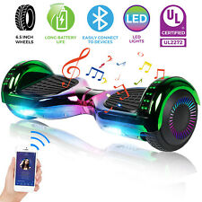 """Smart Self Balancing Scooter 6.5"""" 2-Wheel Electric HoverBoard Ul2272 With Bag"""