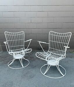 Vintage Mid Century Modern Homecrest Patio chairs