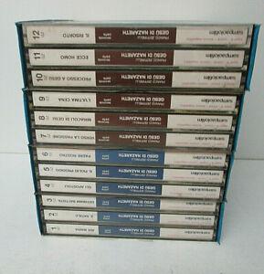 SUPER 8 GESU DI NAZARETH FRANCO ZEFFIRELLI 4X3 BOX 12 S8 IN TUTTO SAMPAOLO -D15