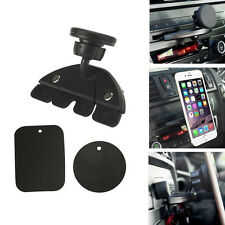 Magnet Car CD Slot Holder Mount Stand For GPS MP4 5 & Tablet Phone Universal