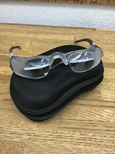 2.1X Eschenbach Max TV Glasses Distance Viewing Magnifying with case G6