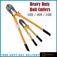 """Bolt Cutter 14"""" 18"""" 24"""" Heavy Duty Cutters Croppers Cable Chain Lock Cut Padlock"""