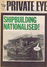 SHIPBUILIDING NATIONALISEDPrivate Eyeno.3309Aug1974