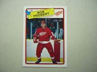 1988/89 O-PEE-CHEE NHL HOCKEY CARD #181 BOB PROBERT ROOKIE NM SHARP!! 88/89 OPC