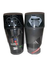 2 Zak! Designs Insulated Iconic Tumbler Cup Screw on Lid Darth Vader Trooper F1