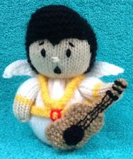 KNITTING PATTERN - Elvis The King chocolate orange cover or 15 cms toy