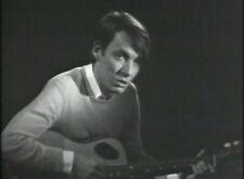 """FABRIZIO DE ANDRE'-DVD """"INCONTRI MUSICALI '69"""" regalo con acquisto cartolina"""