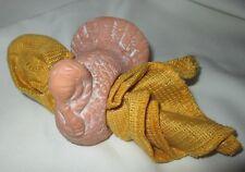 "Napkin Ring & Napkin, Thanksgiving Turkey Ceramic  2.5"" by 3.5"""