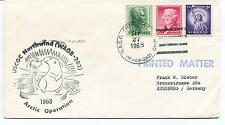 1968 USCGC Cutter Northwind WAGB-282 Deepfreeze Arctic Operation Polar Cover