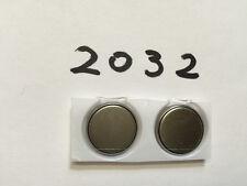 3v Lithium Coin Batteries CR2032 DL2032 BR2032 ECR2032 High Quality New x2