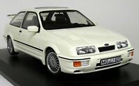 Norev 1/18 Scale Ford Sierra RS Cosworth 1986 3 Door White LHD Diecast Model Car