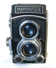 Mamiyaflex Automatic A-II TLR Camera With Olympus Zuiko 75mm F3.5 Taking Lens