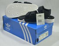 New Adidas Originals Womens ADILETTE SANDAL W S75382 BLACK WHITE US 6 UK 5 SLIDE