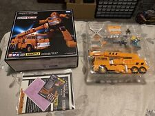 Transformers Masterpiece MP-35 Grapple Takara Tomy Complete Authentic