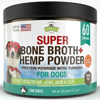 Strawfield Powdered Bone Broth for Dogs - 60 Servings, Chicken - Dog Food Topper